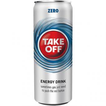 Take Off Energy Drink Zero 24x 0,33l EINWEG Dose