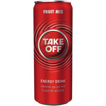 Take Off Energy Drink Red Fruit 24x 0,33l EINWEG