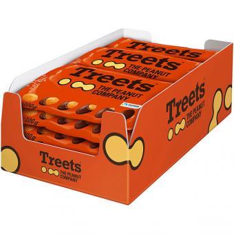 Treets Peanuts 16 Beutel 100g