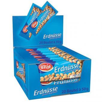 Ültje Erdnüsse gesalzen 20x 50g