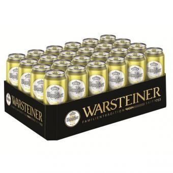 Warsteiner Radler 2,5% Vol 24x 0,5L EINWEG Dose