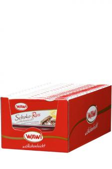 Wawi Schoko Reis Riegel 30 Stück 40g