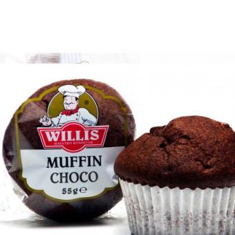 willis muffins schoko 30 st ck 55g g nstig online bestellen. Black Bedroom Furniture Sets. Home Design Ideas