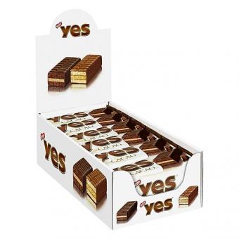 YES Cacao Kuchenriegel 12x 32g