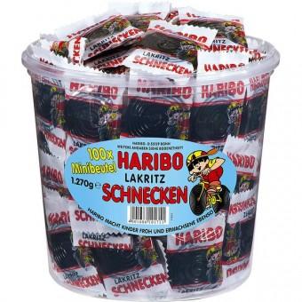 Haribo Schnecken / Rotella Minibeutel 100 Stück