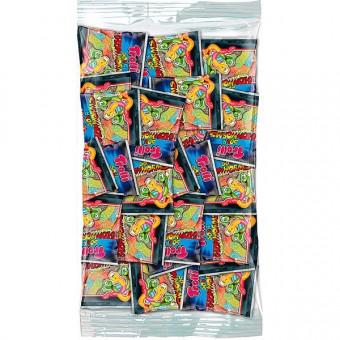 Trolli Sour Glow Worms Minibeutel 100 Stück