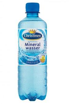 Christinen Spritzig 24x 0,5l EINWEG Flasche