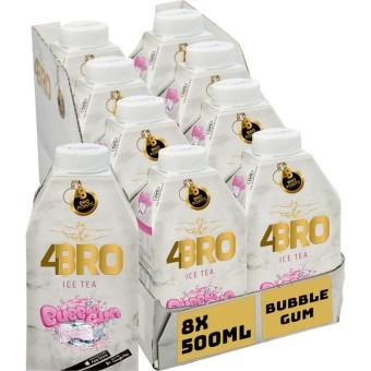 4Bro Ice Tea Bubble Gum 8x 0,5l