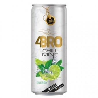 4Bro Energy Chill Mint 24x 250ml EINWEG Dose DPG