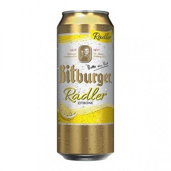 Bitburger Radler 24x 0,5L EINWEG Dose
