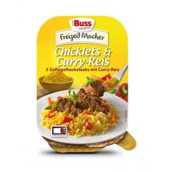 Buss Chicklets und Curryreis 12x 300g