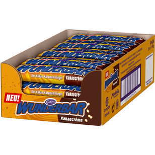 Cadbury Wunderbar Kakaocreme 24x 48,5g