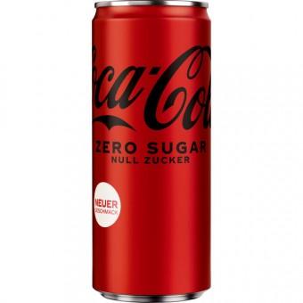 Coca Cola Zero 24x 0,33L EINWEG Dose
