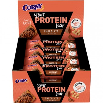 Schwartau Corny Protein Chocolate Crunch 12x 45g