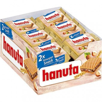 Ferrero hanuta 18 Stück (2x22g)