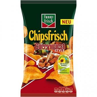 Funny Frisch Chipsfrisch Currywurst 10x 175g
