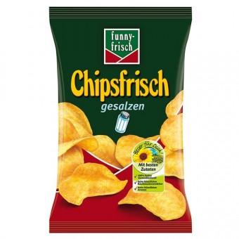 Funny Frisch Chipsfrisch gesalzen 10x 175g
