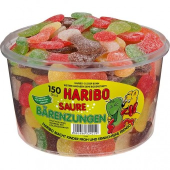 Haribo saure Bärenzungen 150 Stück