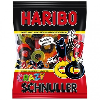 Haribo Crazy Schnuller 14x 200g