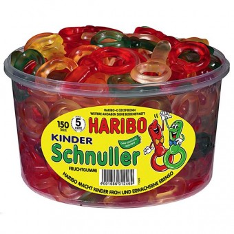 Haribo Kinder Schnuller 150 Stück