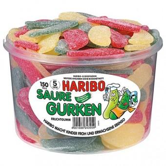 Haribo Saure Gurken 150 Stück