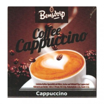 Incup gef. m. Bensdorp - Cappuccino Stange a 25 Becher