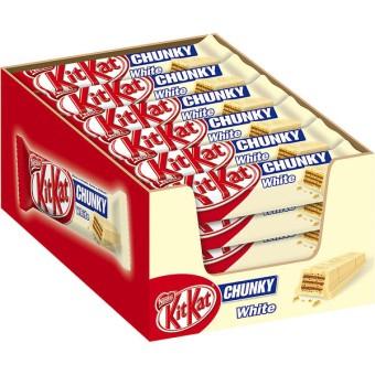 Kitkat Chunky white 24 Schokoriegel 40g