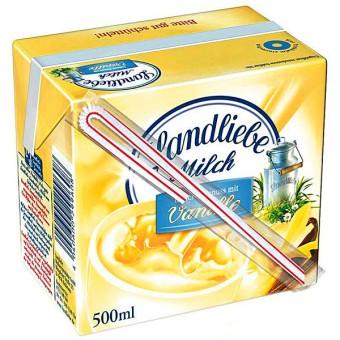 Landliebe H-Milchmischgetränk Vanille mit Trinkhalm 12x 0,5l EINWEG