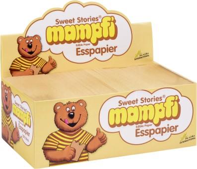 Mampfi Esspapier Sweet Stories Karamell 200 Stück
