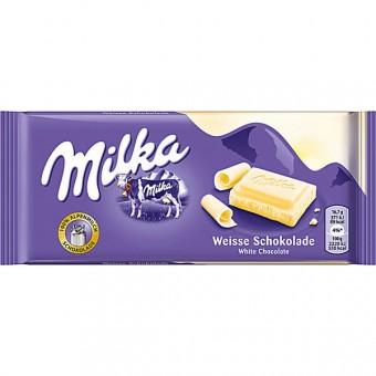 Milka Die Weisse 22 Tafeln 100g