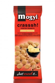 Mogyi Coated Peanuts - Cheese 60g 30 Beutel