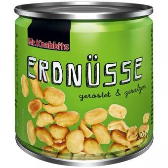 Mr. Knabbits Erdnüsse 24 Dosen 200g