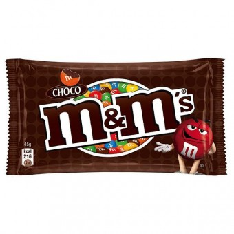 m&m's Schoko Choco 24 Beutel 45g