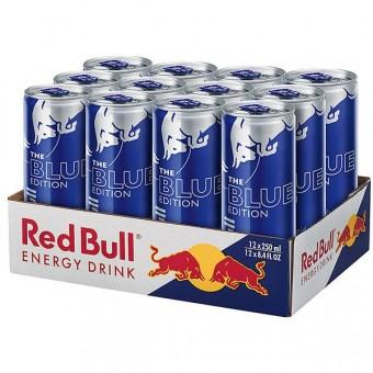 Red Bull Blue Edition 12x 0,25l EINWEG Dose