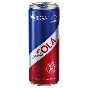 Red Bull Organics Simply Cola 24x 0,25L EINWEG Dose