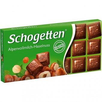 Schogetten Alpenvollmilch-Haselnuss 15x 100g