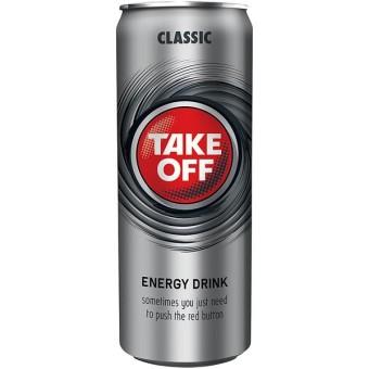Take Off Energy Drink 24x 0,33l EINWEG Dose