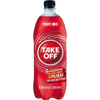 Take Off Energy + Fruit Mix 6x 1l EINWEG Flasche