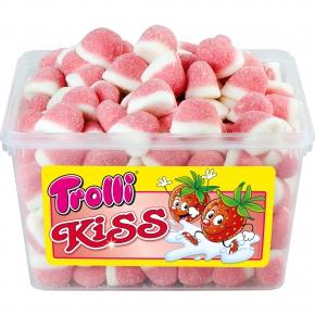 Trolli Kiss - Schaum Erdbeeren 150 Stück