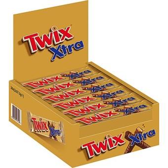 Twix Xtra 30 Schokoriegel 75g