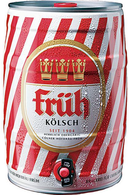 Früh Kölsch 2x 5l Fässer pfandfrei