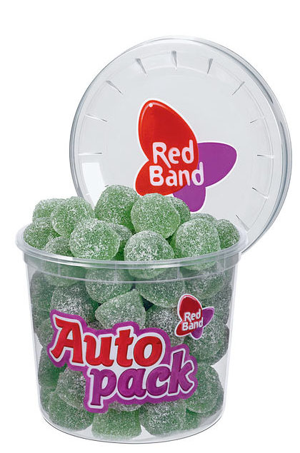 Red Band Euka Menthol Gummi Pastillen 12x 200g