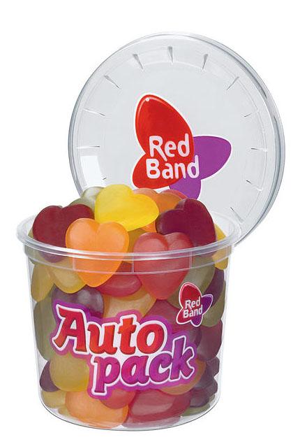 Red Band Fruchtgummi Herzen 12x 200g
