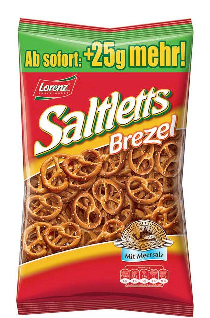 Lorenz Saltletts Brezel Mini 14x 225g