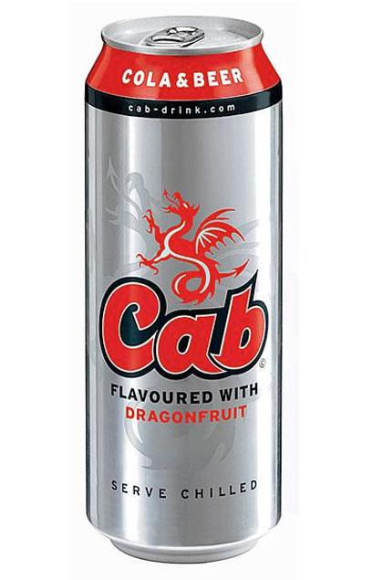 Cab Cola & Beer 24x 0,5L Dose