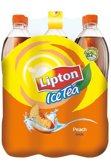 Lipton Ice Tea Peach 6x 1,5L Flasche