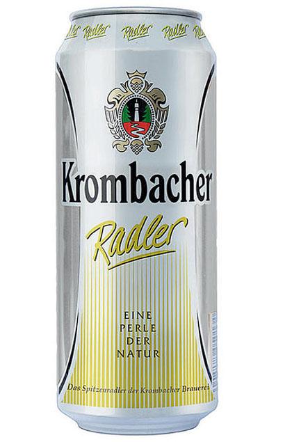 Krombacher Radler 24x 0,5L Dose