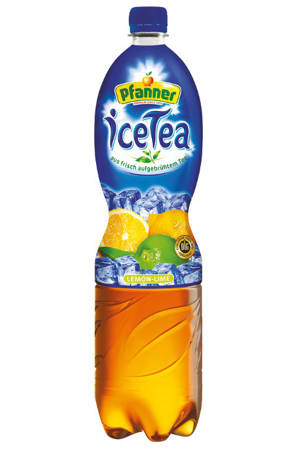 Pfanner Eistee Lemon Lime 6x 1,5L Flasche