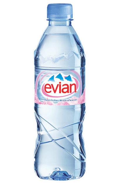 Evian Mineralwasser 24x 0,5l