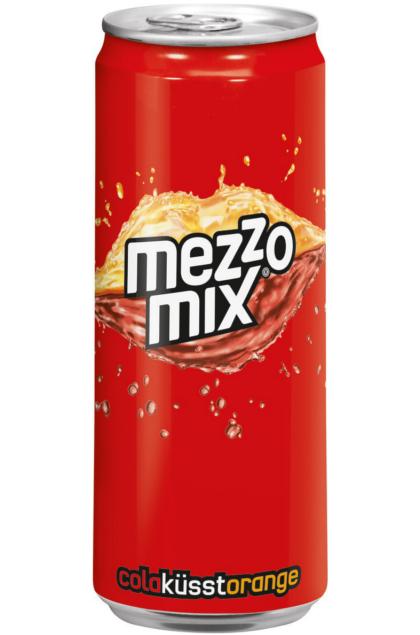 Mezzo Mix Orange 24x 0,33L Dose